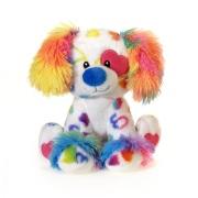 Valentine Rainbow Dog