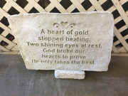 A Heart Of Gold <br>White Stone
