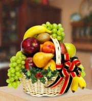 Midwood Flower Shop Holiday Fruit Basket MWC15-12