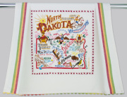 North Dakota Dish Towel