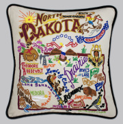 North Dakota Pillow