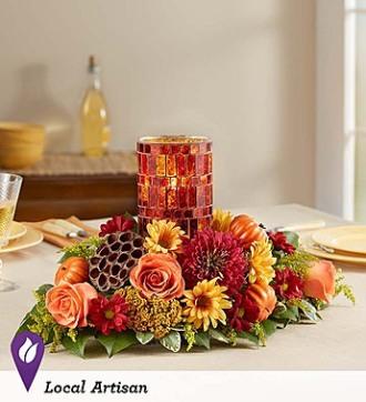 1800 Flowers Pumpkin Harvest Centerpiece