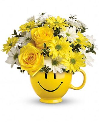 Teleflora\'s Be Happy Mug