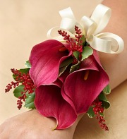 Wine Country Corsage