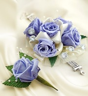 Infinite Rose Lavender Corsage & Boutonniere
