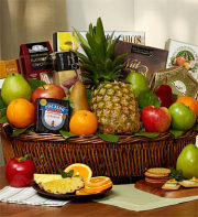 Ripe River Fruit & Cheese Gift Basket