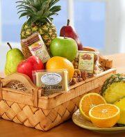 Abundant Fruit & Gourmet Large Gift Basket