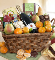 Select Sonoma Fruit & Gourmet Gift Basket