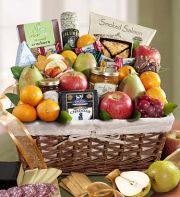 Sierra Sensation Fruit & Gourmet Gift Basket