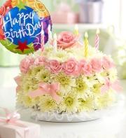 Birthday Flower Cake Pastel