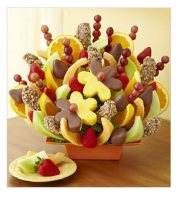 Abundant Fruit & Chocolate Tray by Fruit Bouquests