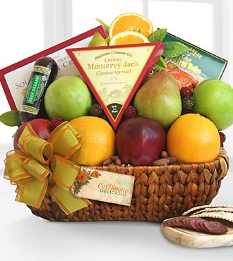 Fruit & GourmentGift Basket