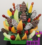 Chocolate Covered Fruit Tray