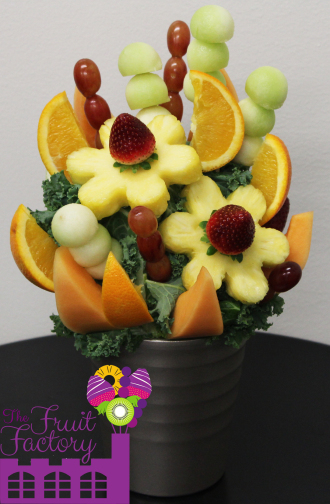 Pineapple Daises Bouquet