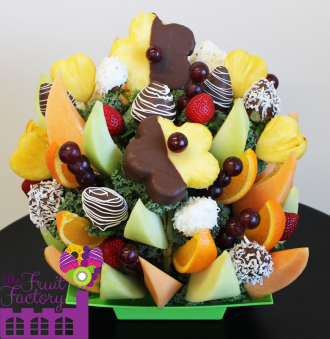 Assorted Chocolate Fruit Tray