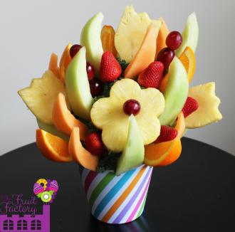Tulip & Daisy Pineapple Bouquet