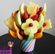 Tulip & Daisy Pineapple Bouquet
