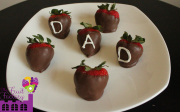 Strawberries for Dad!