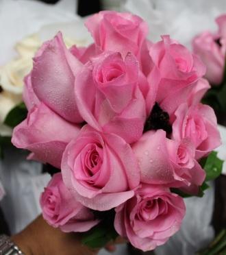 Rose Bridesmaid Bqt.