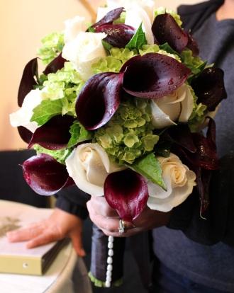 Rose, Calla, & Hydrangea Bqt.