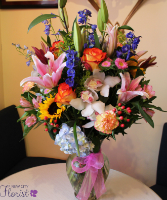 NCF Tropical Vase