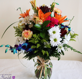NCF Mixed Vase Bouquet