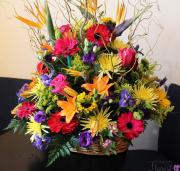 Sympathy Funeral Basket