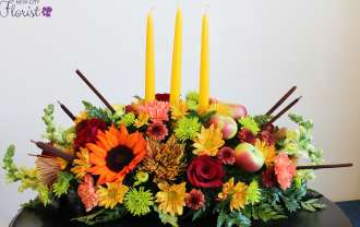 Long & Low Candle Centerpiece