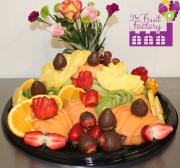 Large Fruit Trayw/Choc.