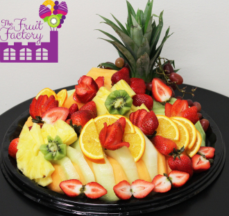 Medium Fruit Tray w/Choc.
