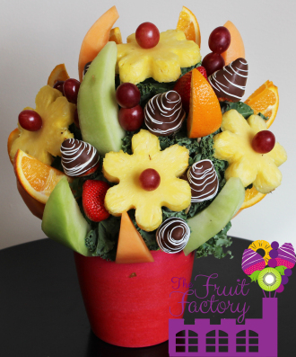 Assorted Fruit Arrangement