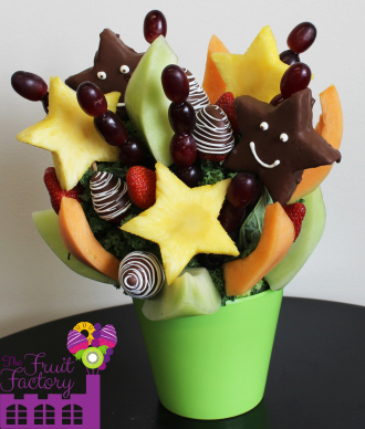 Chocolate Covered Pineapples Arrangement