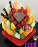 Pineapple Heart Arrangement