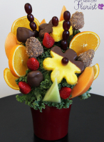 Assorted Chocolate Covered Pineapple Arrangement