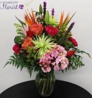 Assorted Spring Vase
