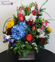 Elegant Mix Cube Vase