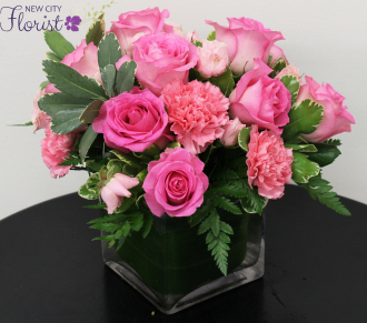 Pinkalicious Cube Vase