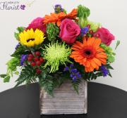 Summer Mix Cube Vase