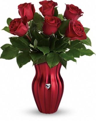 Heart of a Rose Bouquet