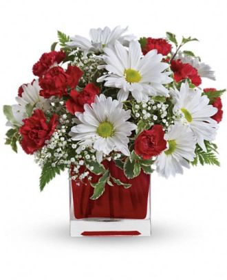 Red And White Delight Bouquet