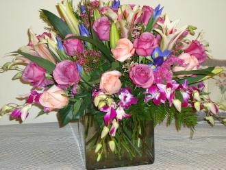 Pastel Purple Bouquet