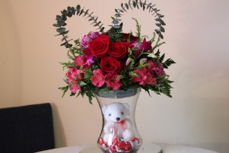 Heart & Kisses Bouquet