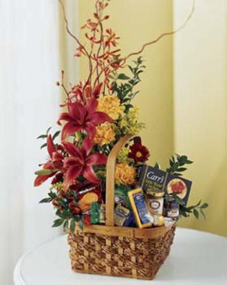 Blooming Gourmet Basket