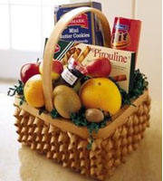 Fruit and Cookies Basket