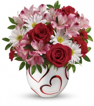 Happy Hearts by Teleflora