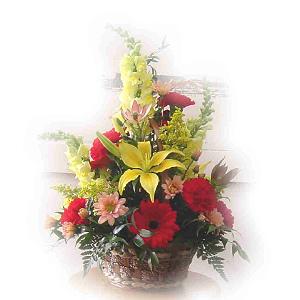 Sunny Flower Basket
