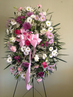 Pink Spray Arrangement