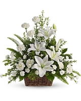Blissful White Lilies