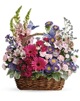 Basket of Country Bloom