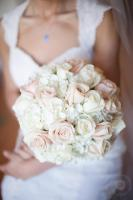 Rose & Hydrangea hand tied bouquet